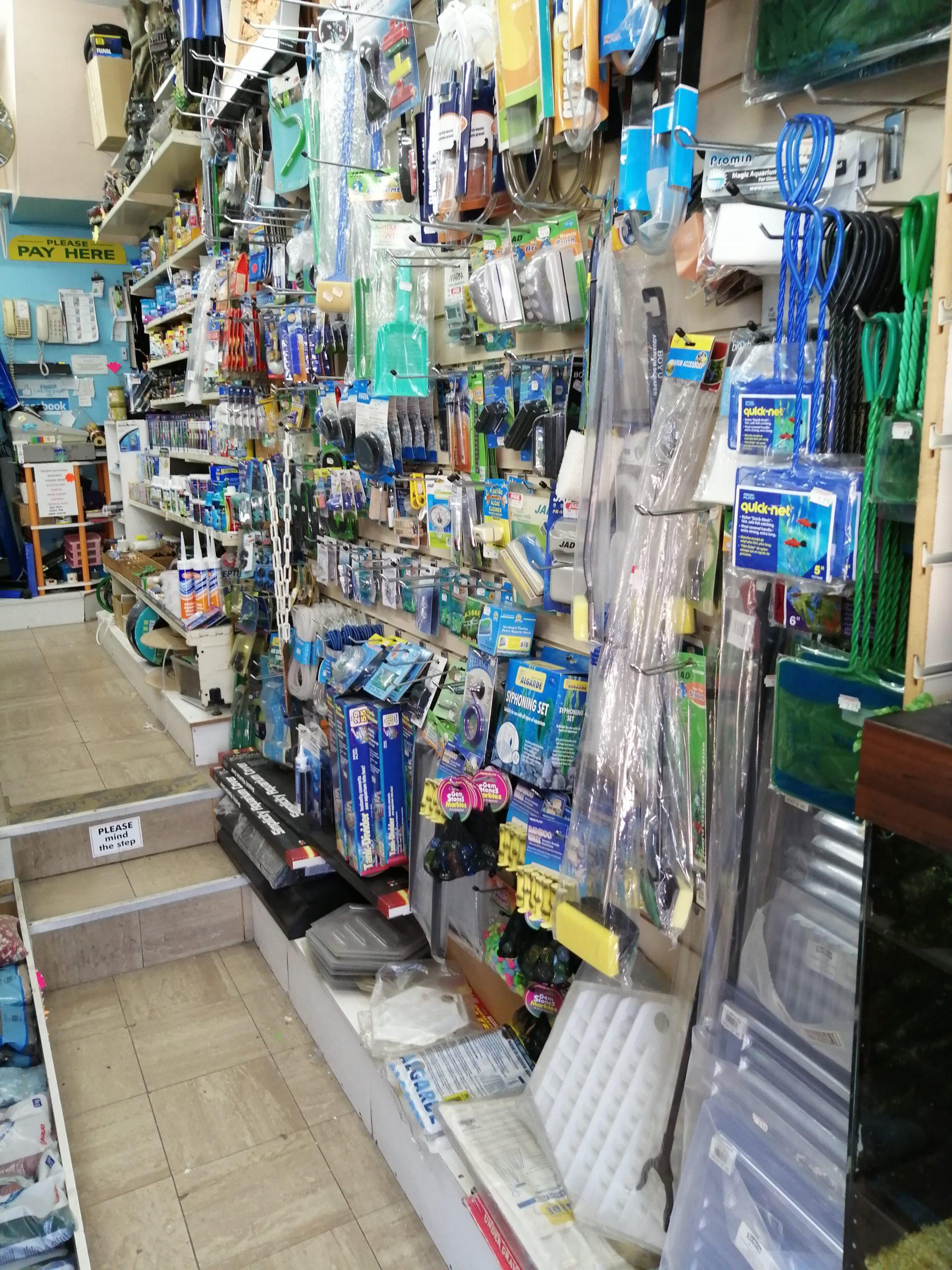 stock items